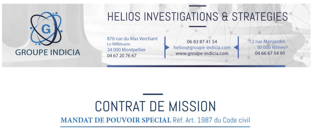 Faire appel aux détectives privés du groupe Indicia, réseau national de détectives privés